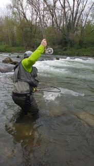 Fly fishing gear
